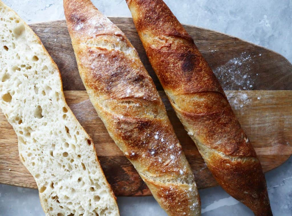 Traditioneel Frans stokbrood